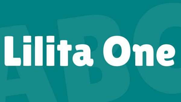 Lilita One Font