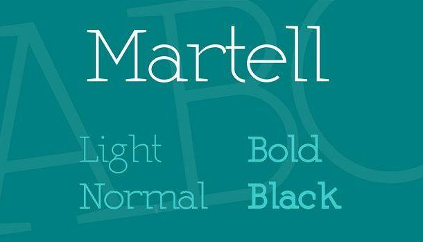 Martel Font