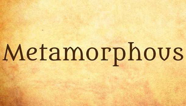 Metamorphous Font