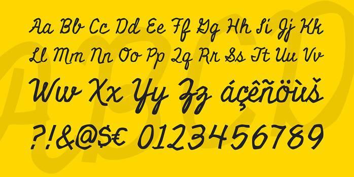Miniver Font-1