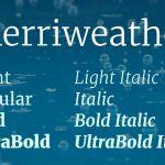Merriweather Serif Font Family