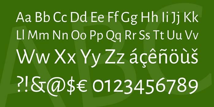 Alegreya Sans Font Family-1