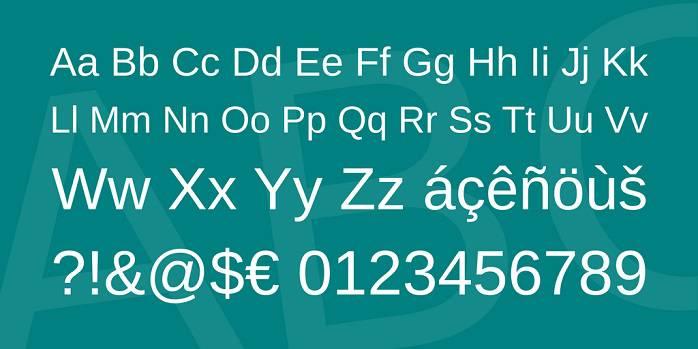 Arimo Font Family-1