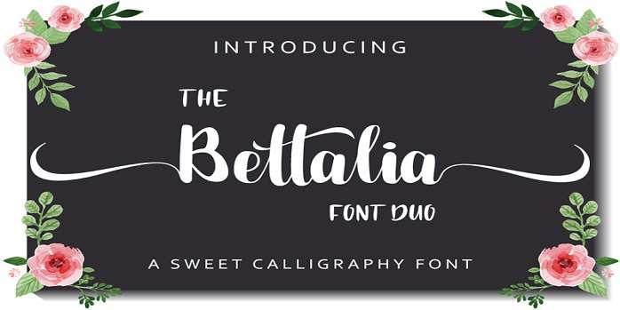 Bettalia Font