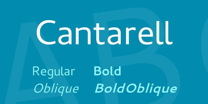 Cantarell Font Family
