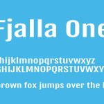 Fjalla One Font Family