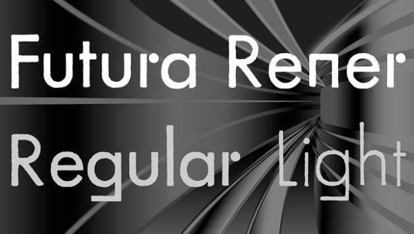 Futura Rener Font Family