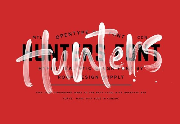 Hunters Font