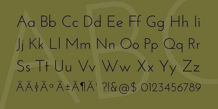 Josefin Sans Font Family-1