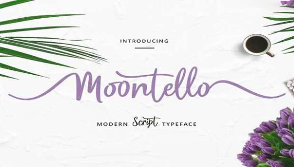 Moontello Font