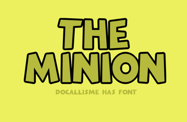 The Minion Font Family