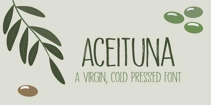 Aceituna Font