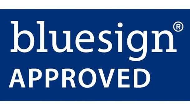 Blue Sign Font