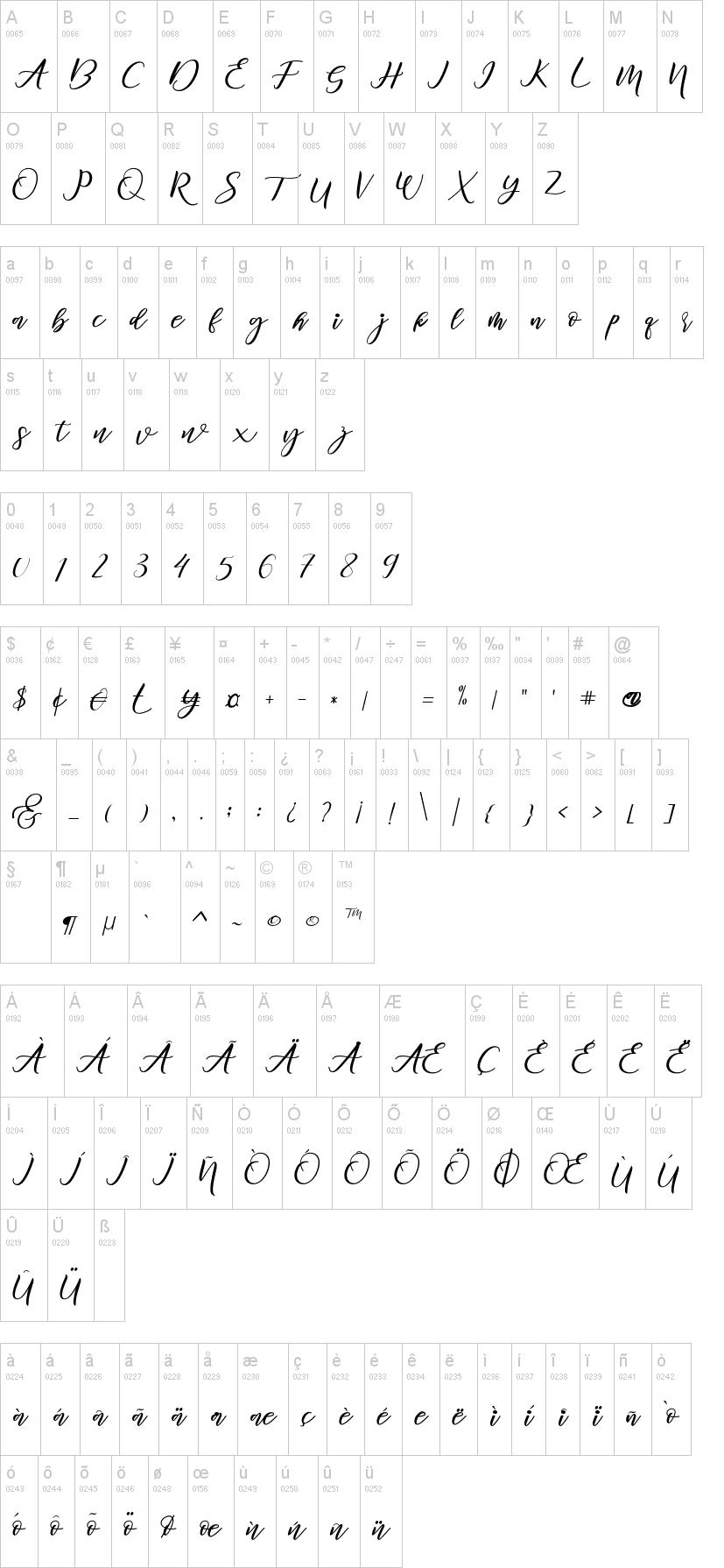 Diary Amily font-1
