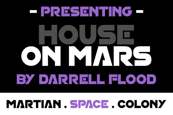 House On Mars Font Family