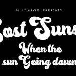 Lost Sunset Font