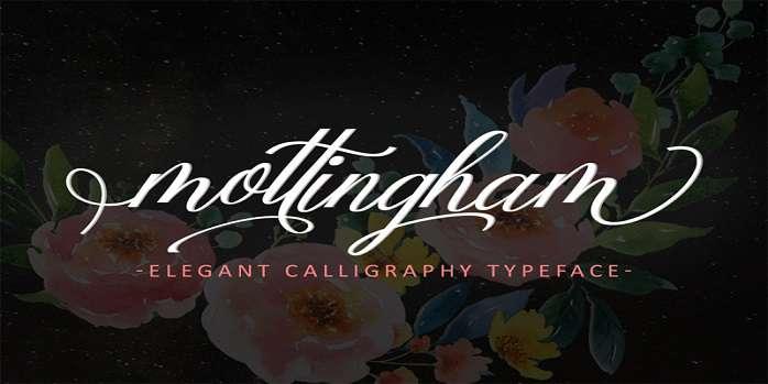 Mottingham Elegant Font