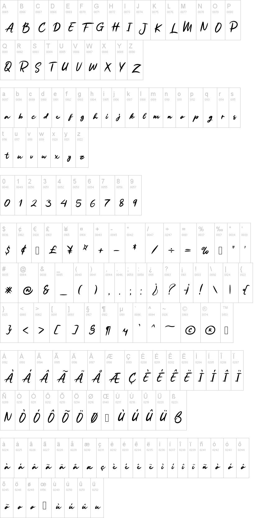 Ruthen Back Font-1