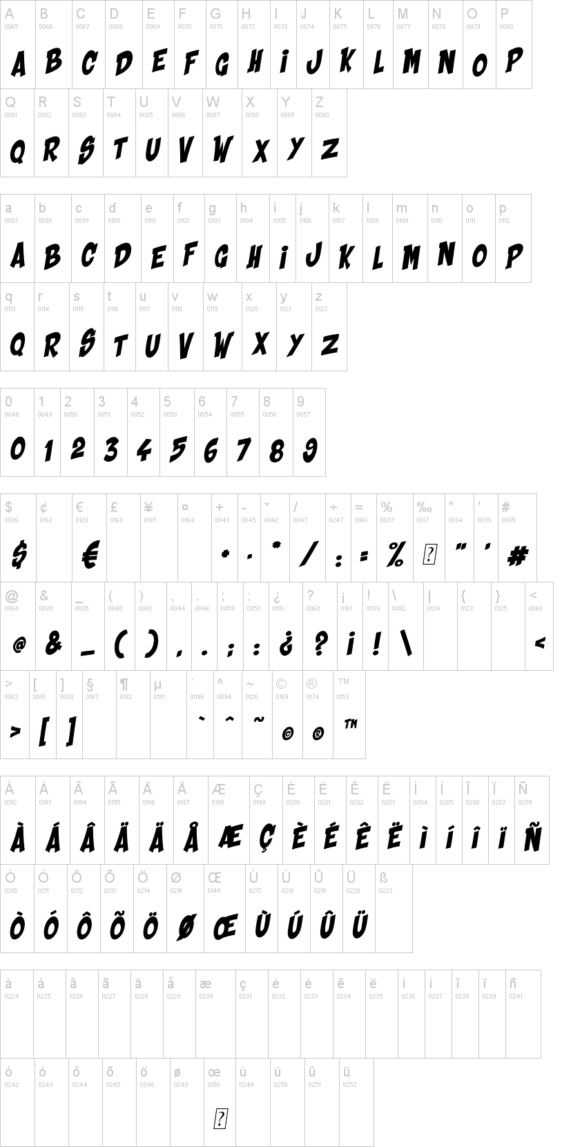 Shaka Pow Font-1