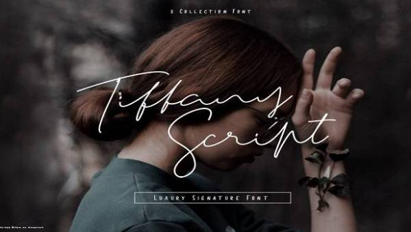 Tiffany Script Font Family