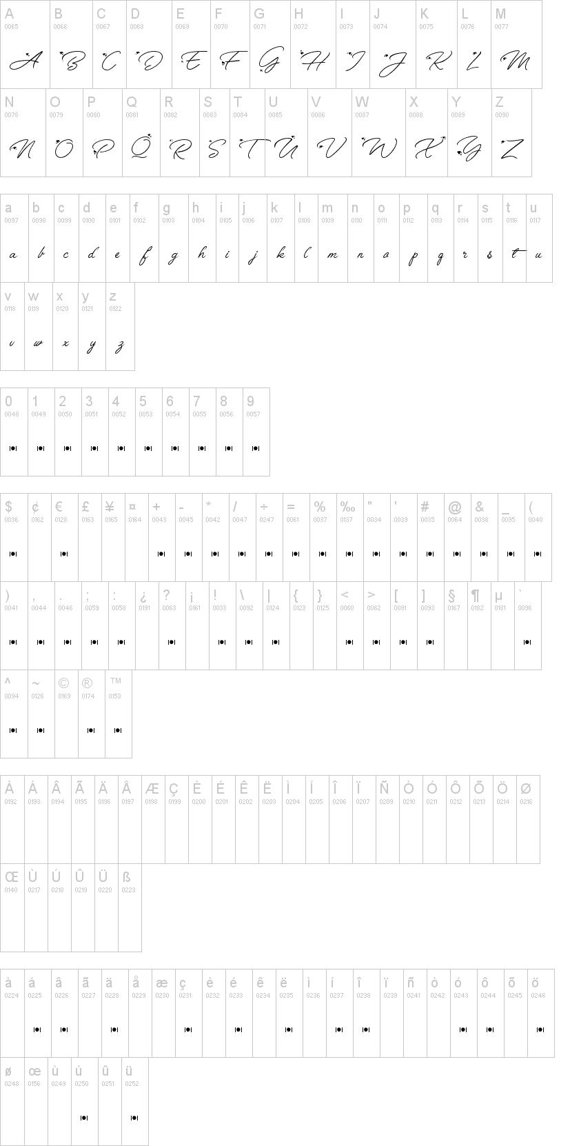 Anggrek Font-1