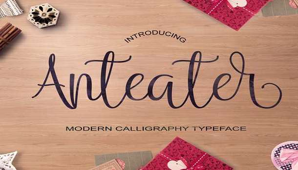 Anteater Font