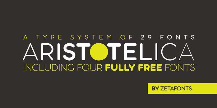 Aristotelica Font Family - Dafont Free