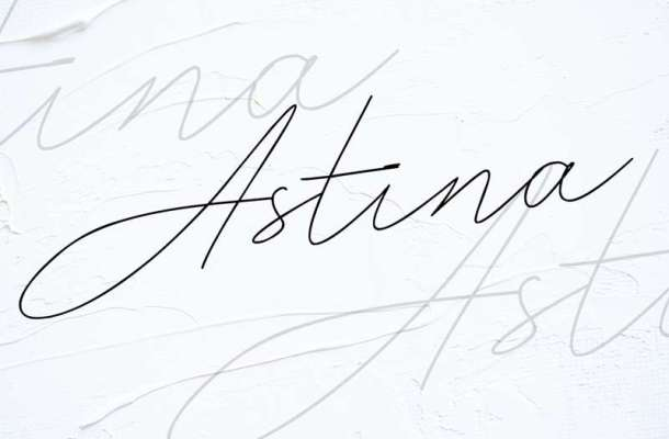 Astina Font