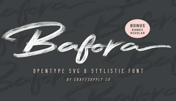 Bafora Font