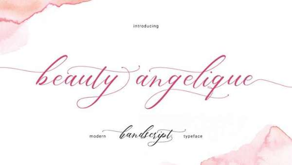 Beauty Angelique Font