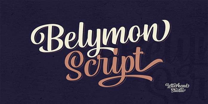 Belymon Script Font
