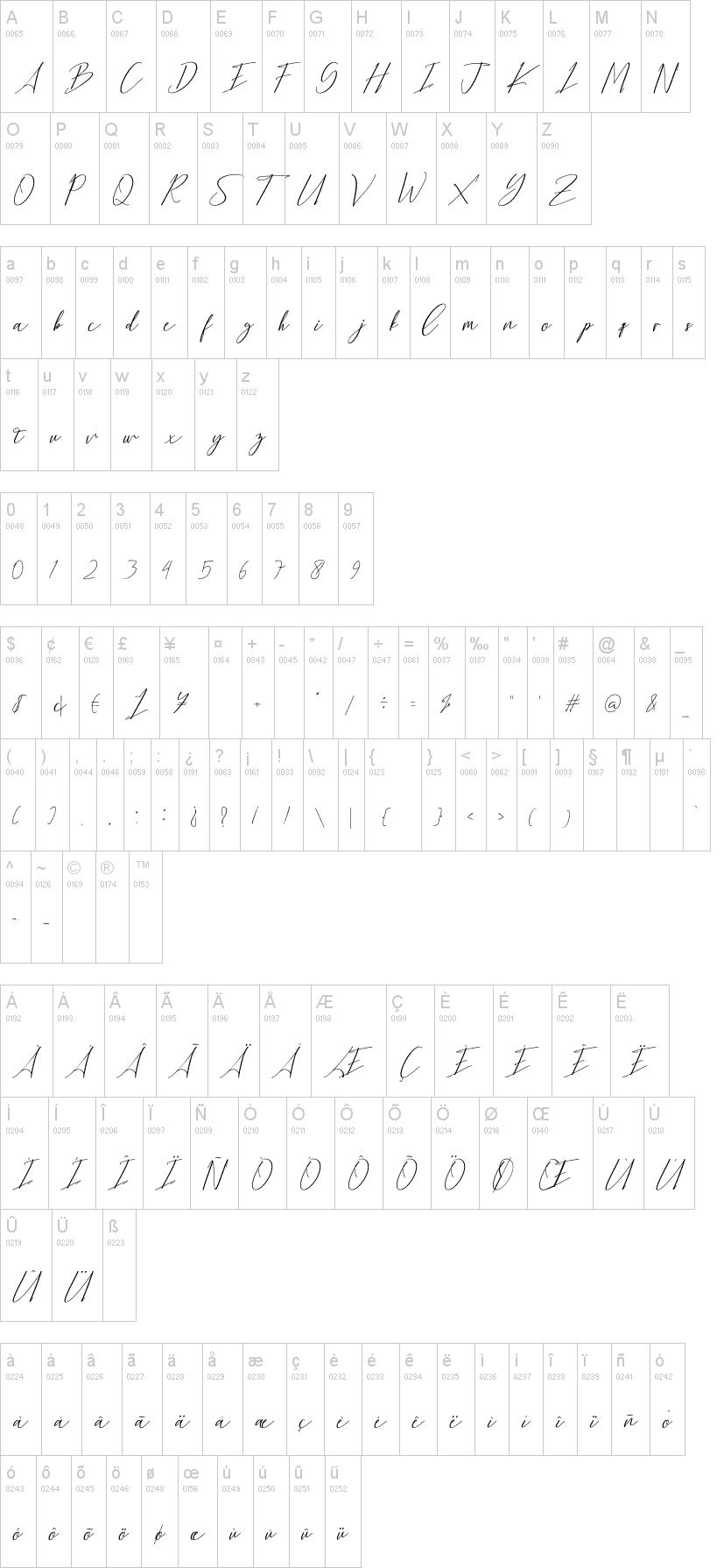Bethany Script Font-1