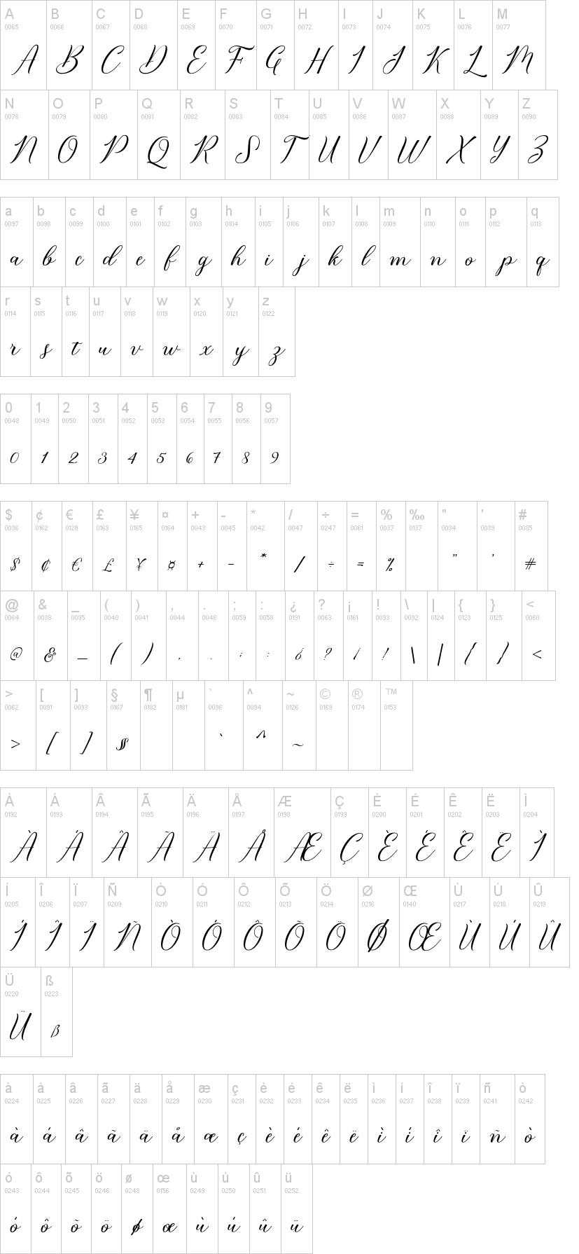 Bridget Script Font-1