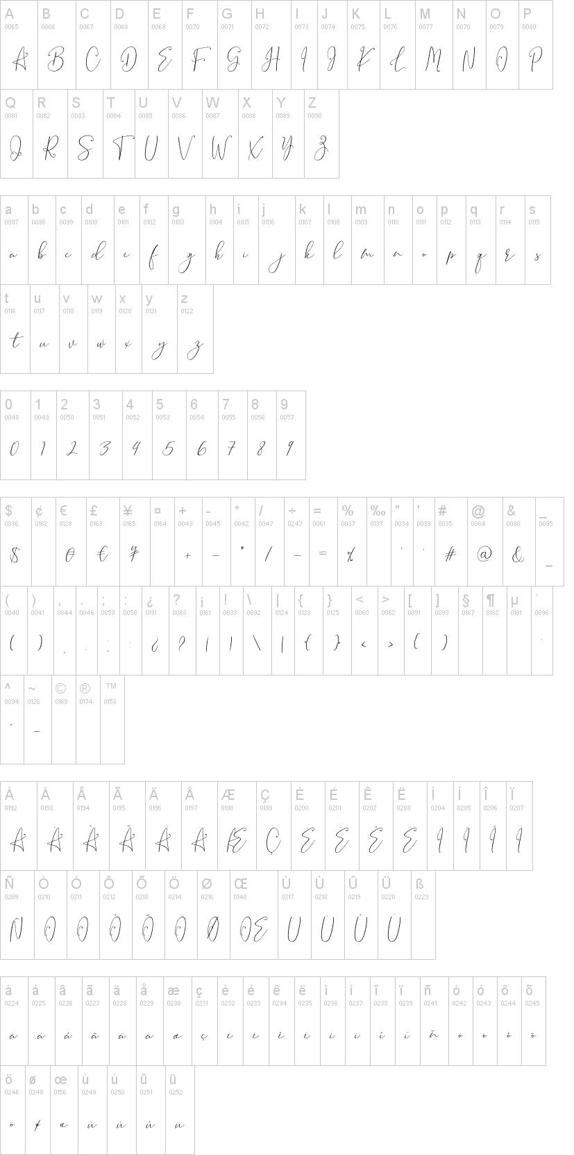 Brooke Smith Script Font-1