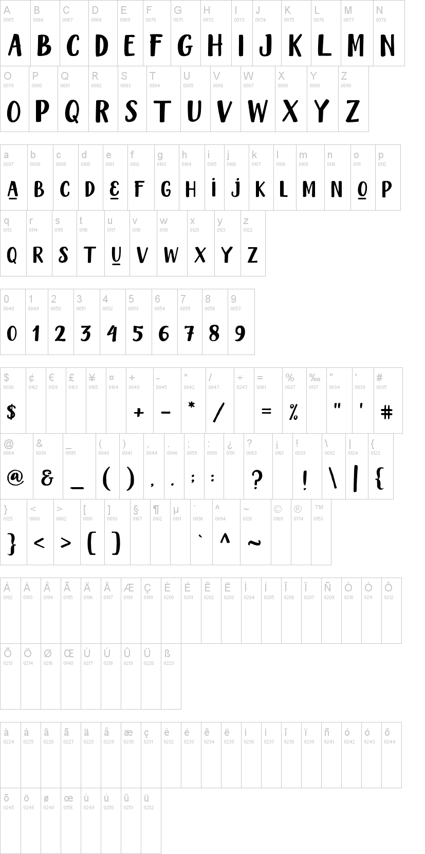 Chandelle Display Font-1