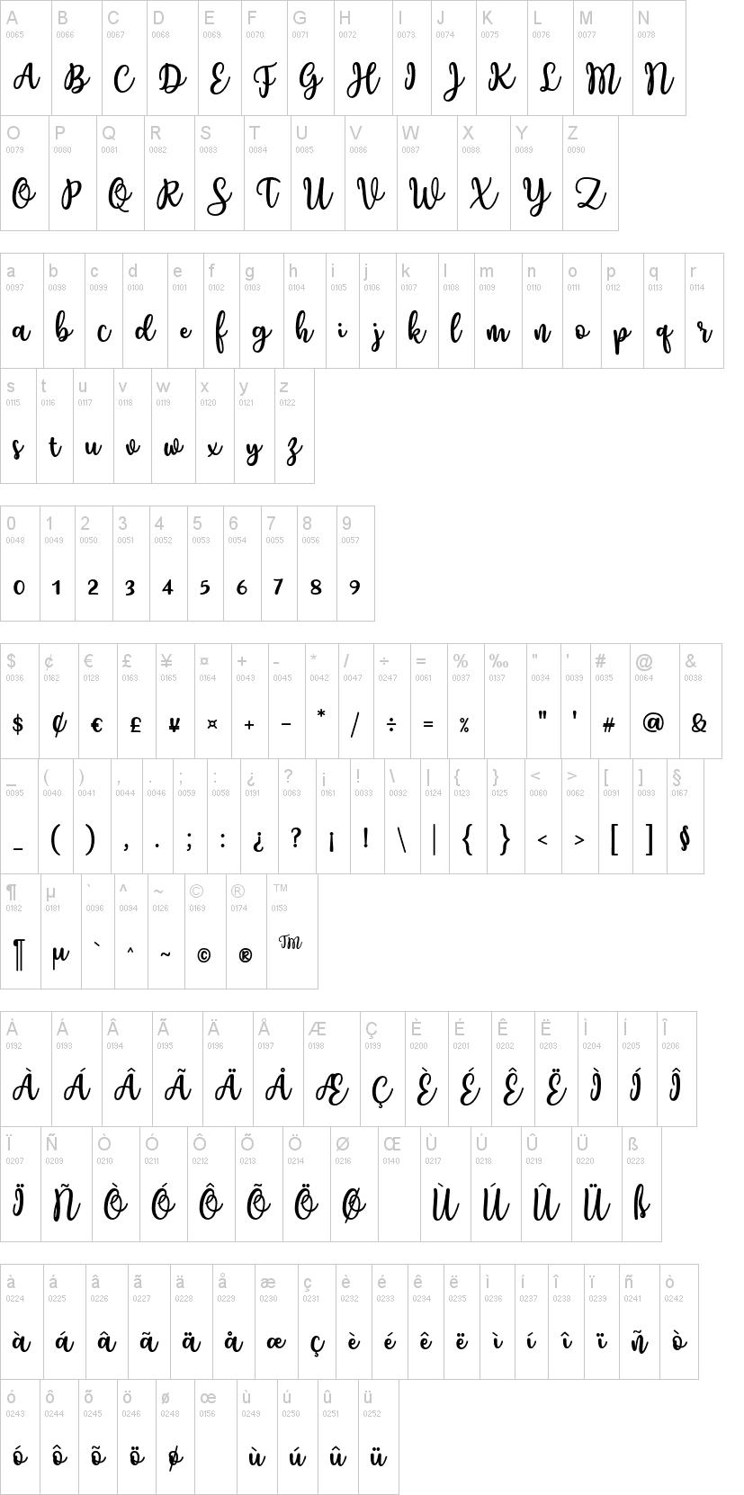 Charilla Font-1