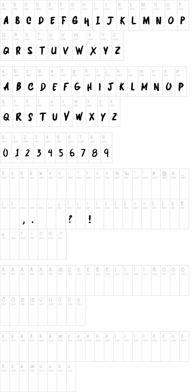 Deepshockz Font-1