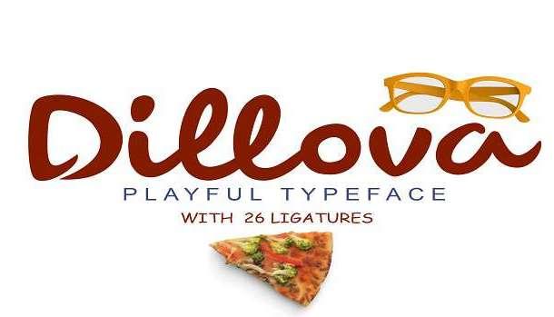Dillova Font