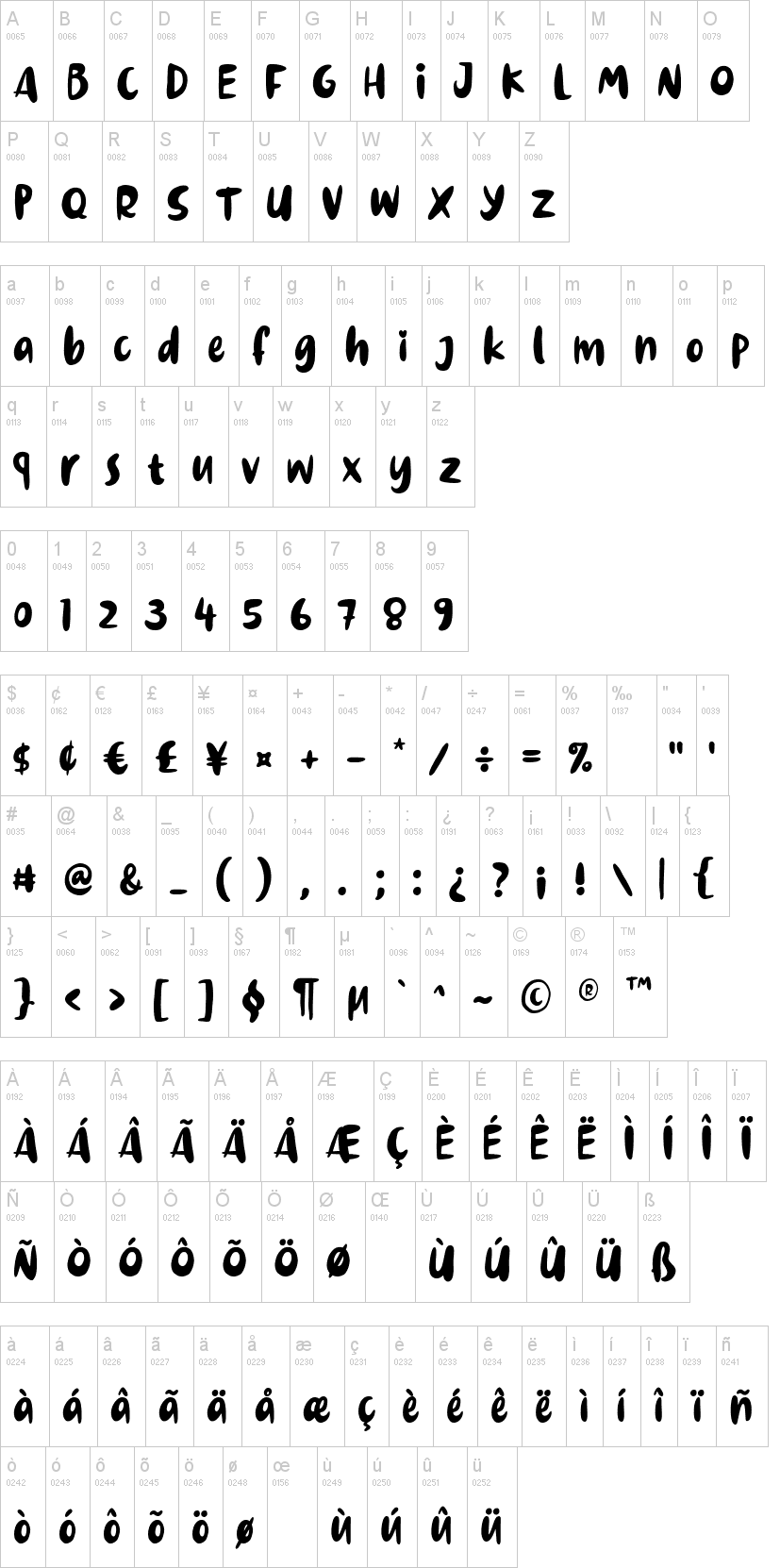Dinomiko Font-1
