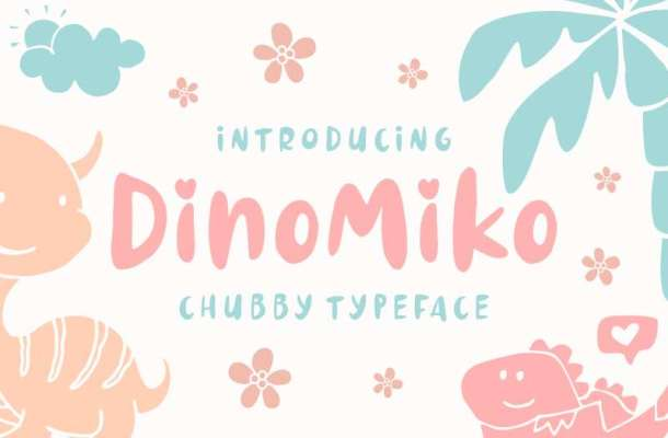 Dinomiko Font
