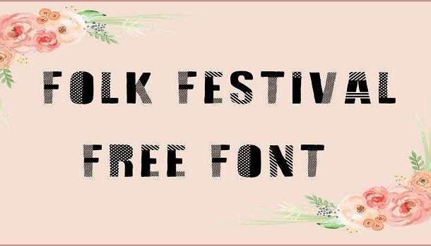 Folk Festival Font