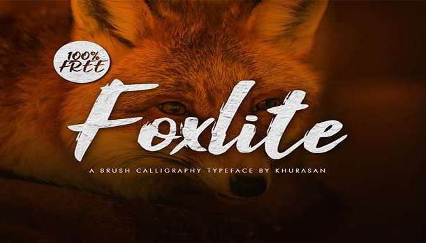 Foxlite Script Font