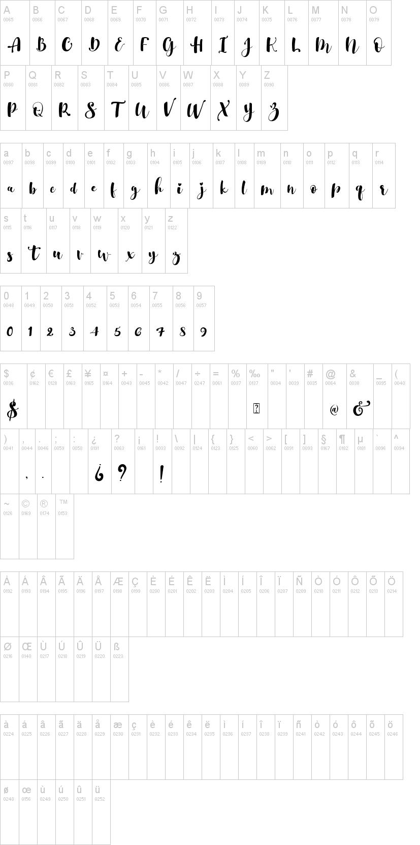 Gulya Script Font-1