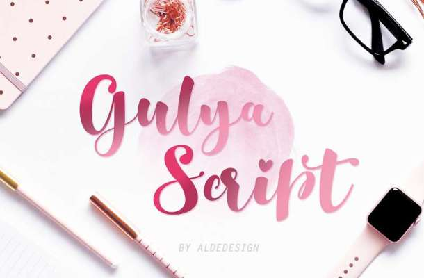 Gulya Script Font
