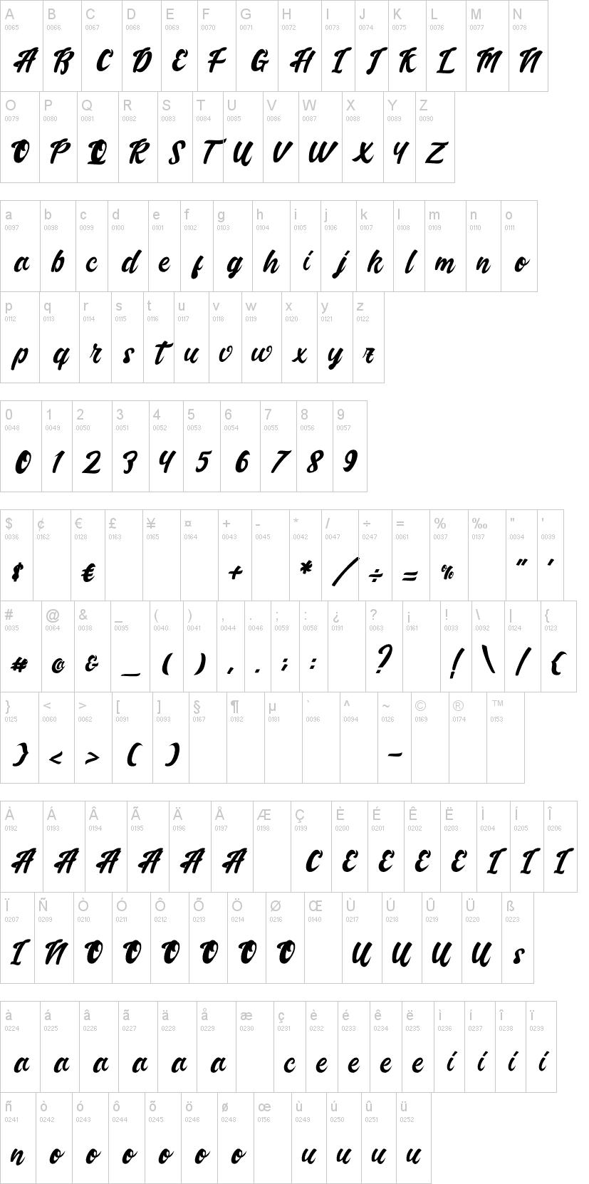 Handletterink Font-1