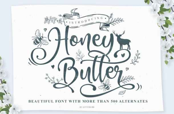 Honey Butter Font