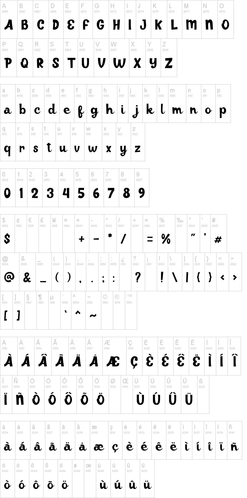 Juiceline Font-1