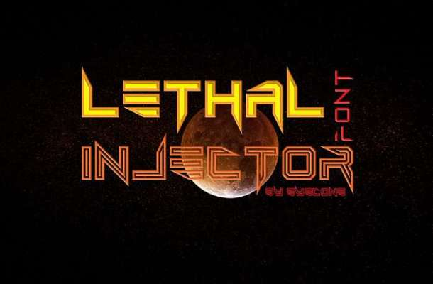 Lethal Injector Font Family
