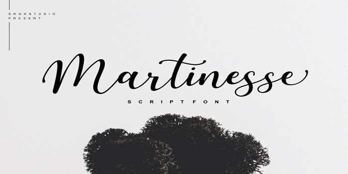 Martinesse Font