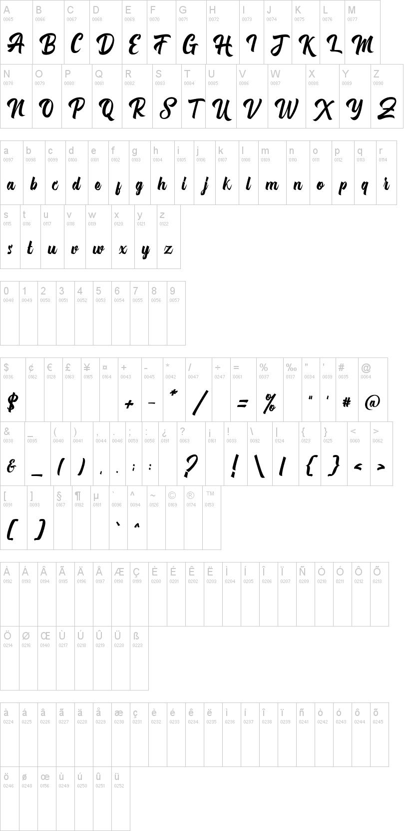 Michail Script Font-1